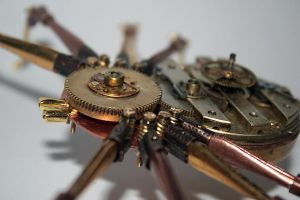 Steampunk spider by hardwidge