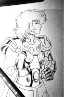 [Saint Seiya] Capricorn no Shura by BlackKitty05