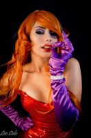 Jessica Rabbit Cosplay by NayeliCoss