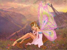 Winx club. Flora Enchantix by BySarahBrain