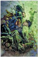Justice League No.2 Combo CVR by sinccolor