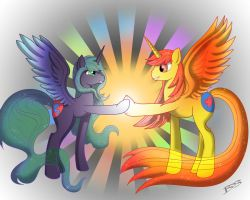 Love and Tolerance by TheNornOnTheGo