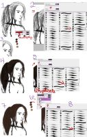Hair Tutorial Part 1 by PixiedustMystery