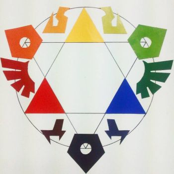 Triforce colorwheel by Berleon
