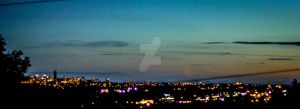 Coquitlam Skyline by FeatheredPhoto