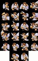 KId Icarus Uprising: Pit's Expressions Template by RabnadSkubla