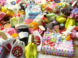 135 Sweets Cabochons by souzoucreations
