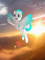 Dawn Sky Flight by LinaPrime