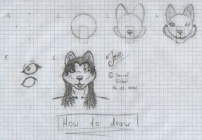 How to draw by Bl4ckW0lf
