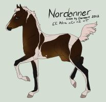 Nordanner foal #2293 by SarahScala
