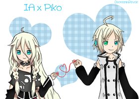 IA x Piko by so-can-i-love-you