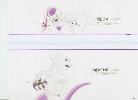Frieza v Mewtwo by awesomemcnugget