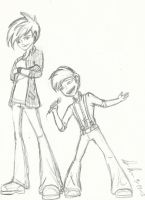 Riley and Baxter Humanization by Maygirl96
