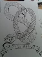 A is for AMPHISBAENA by stackerpentecoste