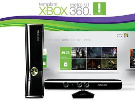 XBOX 360 'Twist Control' by MetroUI