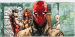 Red Hood and The Outlaws Panel (Water Color) by ianjarold1