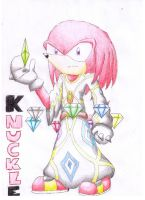 First Guardian: Knuckles by Dogwhitesector