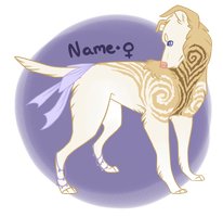 angelic dog / auction / closed by Trix-Adoptions