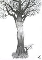 Treewoman by KainMorgenmeer