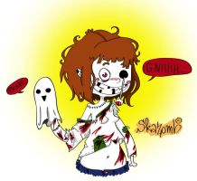 Zomby Girl by Porn-2-Be-A-Life