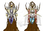 The Norns - Urd and Skuld by Draenei-san