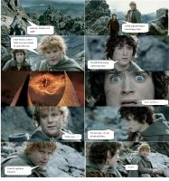 Lord of the Rings Comic 9 by ashantiwolfrider