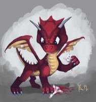 Little Dragon by Dkiearth9