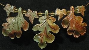 Leaf Necklace by moreMDM