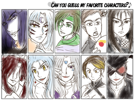 Fave character meme by djwagLmuffin