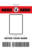 MYO Nerd Herd ID Badge - Chuck by RandomestFactor