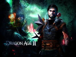 Dragon Age II: Garrett Hawke by suicidebyinsecticide