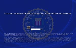 FBI Logon 1280x800 by xslider13