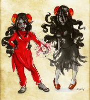 Aradia sketches by Cheppoly