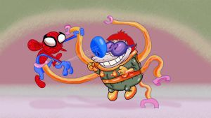 Spider Ren vs DocNipple by Makinita