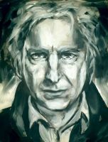 Alan Rickman by ToraKatt