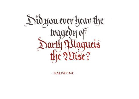 Palpatine - Darth Plagueis the Wise by MShades