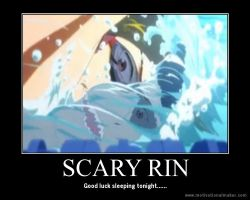 Free! Motivation: Scary Rin by xMaikoWolfx