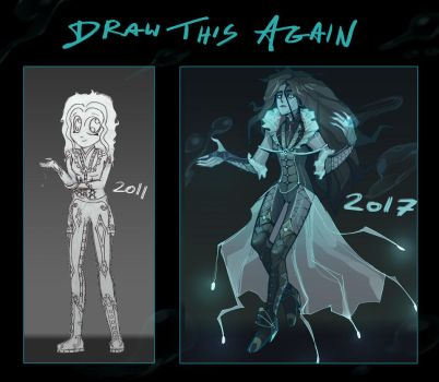 Draw this again: water elemental by Banana-Jeff