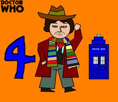 Doctor Who Minis - Fourth Doctor by ESPIOARTWORK-102