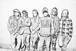 Hollywood Undead by DynamicDeliveries