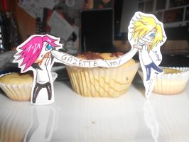 Decorating the Muffin by HayleyFeatRuki