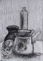 Coal still life by LadyFromEast