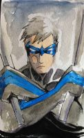 Dick Grayson by kevinbriones