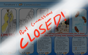 Point Commissions - CLOSED by Tarakore