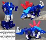 Rescue Bots Dinobot Chase touchup by dvandom