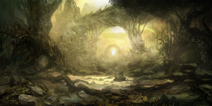 Forest Portal by Narandel