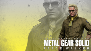 MGS: Peace Walker Wall. Miller by B4H