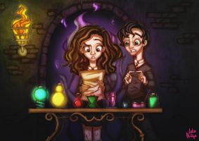Through The Trapdoor: Potions by Phillippeaux