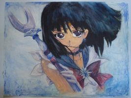 Sailor Saturn by AnnaBitti