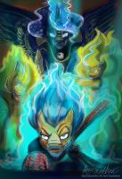 Commission My Little Pony, Dragonball Z Cross over by Mad--Munchkin